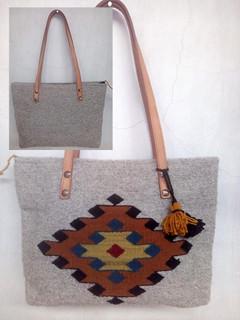 """""""Diamond"""" Wool Bag $700 pesos plus shipping (mas envio)"""