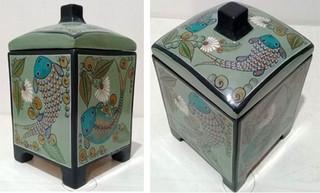 Barro Bruñido Box with Cover $4,500 pesos plus shipping (mas envio)