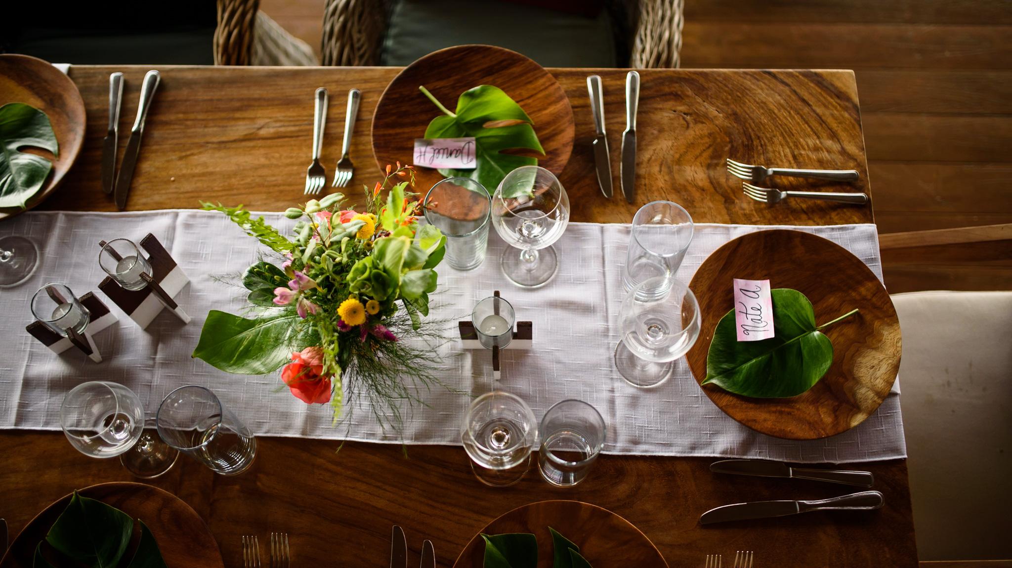 Dreamy wedding setup at Casa Alang Alang