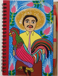Rooster & Ranchero Notebook $450 pesos plus shipping (mas envio)