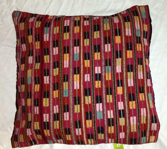 Wool Pillow Cover Natural-Dyes $3,500 pesos plus shipping (mas envio)