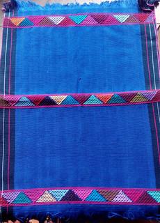 Blue Hand-woven Placemats $250 each/cu plus shipping (mas envio)
