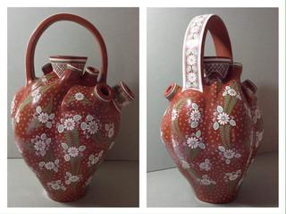 """Heart of Craftsman"" Barro Bandera $35,000 pesos plus shipping (mas envio)"