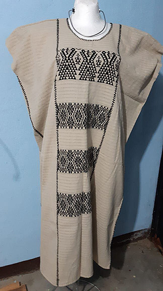 Hand-woven Cotton Huipil $2000 plus shipping (mas envio)