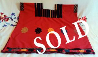 SOLD--Chalchihuitán Huipil $1,800 pesos plus shipping (mas envio)