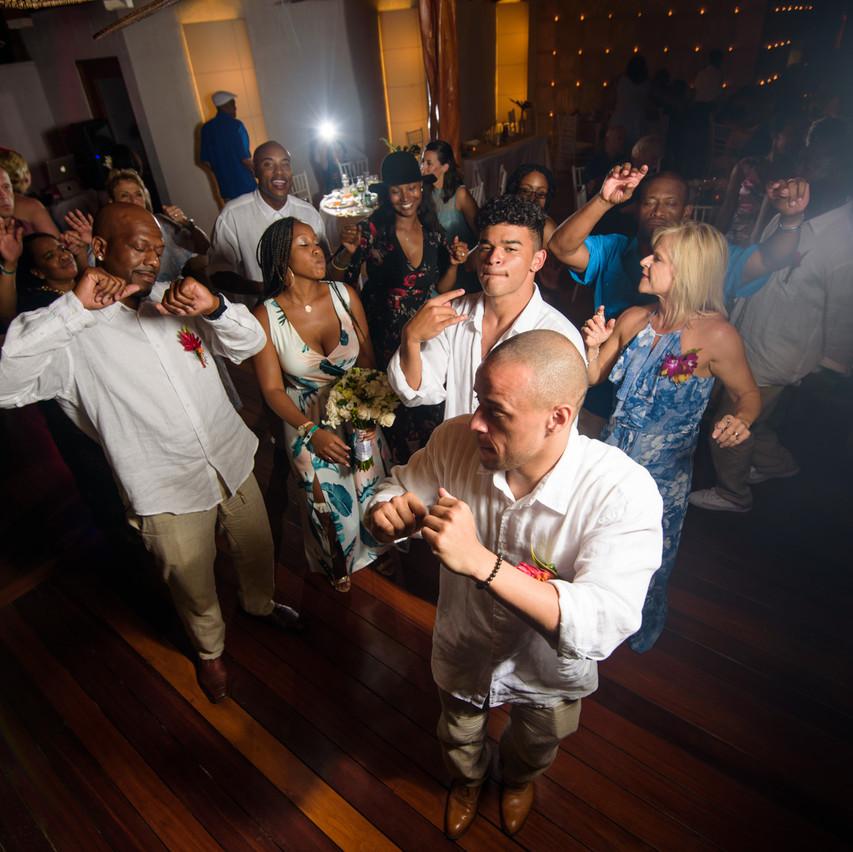 Celebration of love at Tamarindo Diria