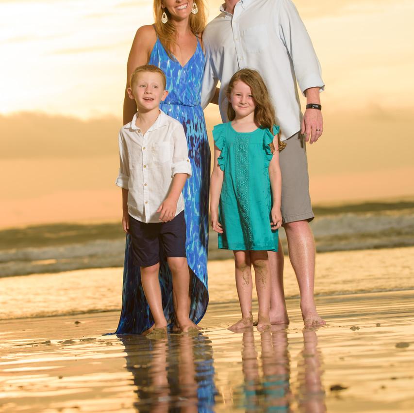 Enjoying their Costa Rica family vacation