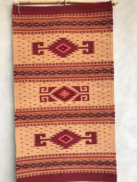 Hand-woven Rug $3,500 pesos plus shipping (mas envio)