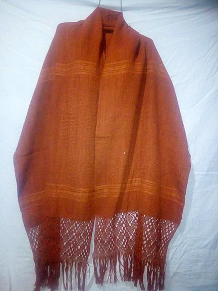 Cotton natural dye rebozo $1000 plus shipping (mas envio)