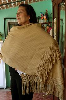 Hand-woven Dorado/Gold Rebozo $1850 pesos plus shipping (mas envio)