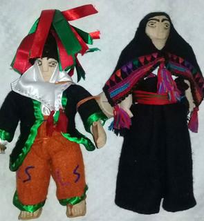 Man & Wife Handmade Dolls $500 pesos plus shipping (mas envio)