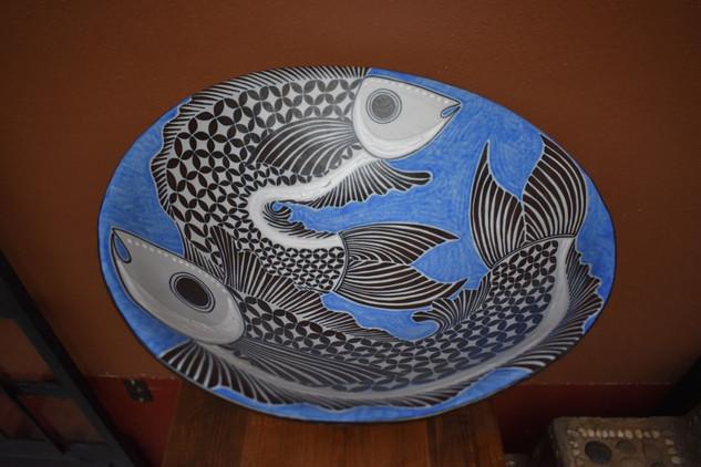Centerpiece with fish $8,000 pesos mas enviro / plus shipping