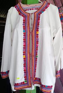 Handmade Manta (cotton) blouse $500 pesos plus shipping (mas envio)