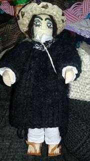 Hand-made Doll $200 pesos plus shipping (mas envio)