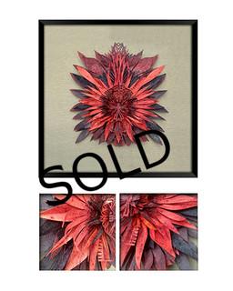 """SOLD-""""Blood Shield V"""" $3,600 pesos plus shipping (mas envio)"""