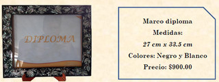 Wood inlaid w/abalone picture frame $900 pesos plus shipping (mas envio)