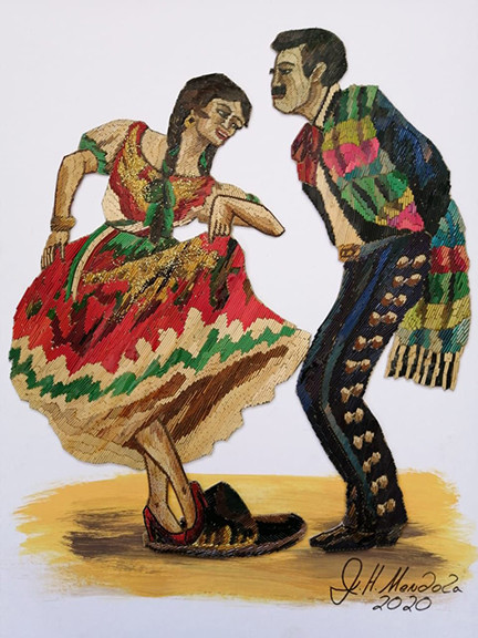 Popotillo Dancers $1,500 pesos plus shipping (mas envio)