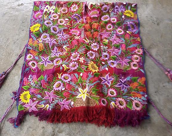 Embroidered Poncho $1300 pesos plus shipping (mas envio)
