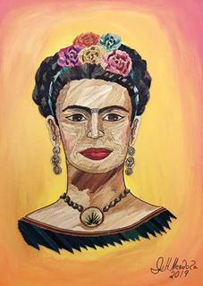 Popotillo Frida Kahlo $2,800 pesos plus shipping (mas envio)