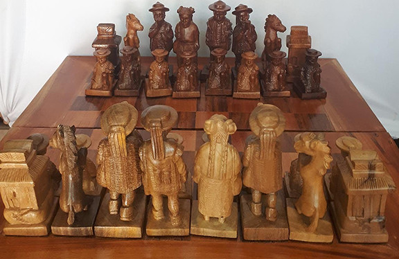 Zinacantecos Chess Set $13,500 pesos plus shipping (mas envio)