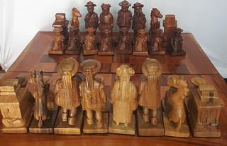 Zinacantecos Chess Set $13,500 pesos plus shipping (mas envio)