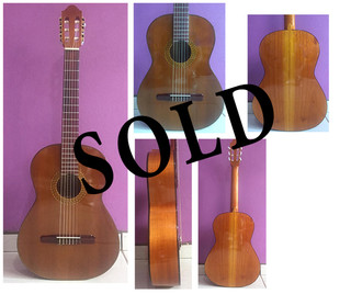 SOLD--Classical Guitar $4000 pesos plus shipping (mas envio)