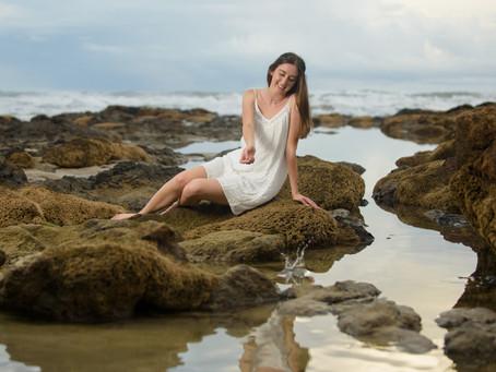 Senior Pictures in Costa Rica at Playa Grande