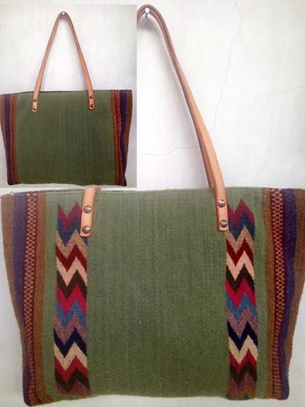 """""""Spring"""" Design Wool Bag $850 plus shipping (mas envio)"""