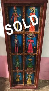 SOLD-Painting on Wood $4100 pesos plus shipping (mas envio)