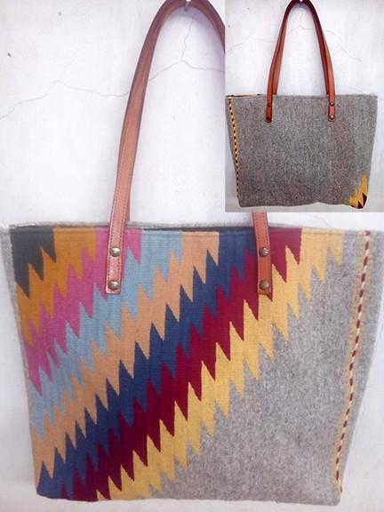 """""""Rainbow"""" Wool Bag $850 pesos plus shipping (mas envio)"""