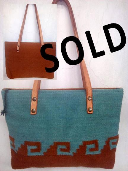 """SOLD--""""Zapotec"""" Wool Bag $700 pesos plus shipping (mas envio)"""