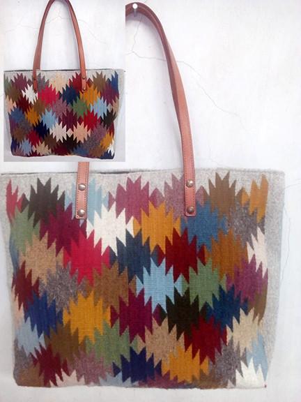 """""""Thousand Star"""" Wool Bag $870 pesos plus shipping (mas envio)"""