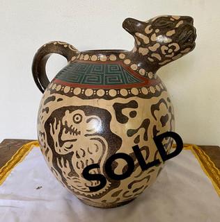 SOLD-Jaguar Vessel $2,800 pesos plus shipping (mas envio)