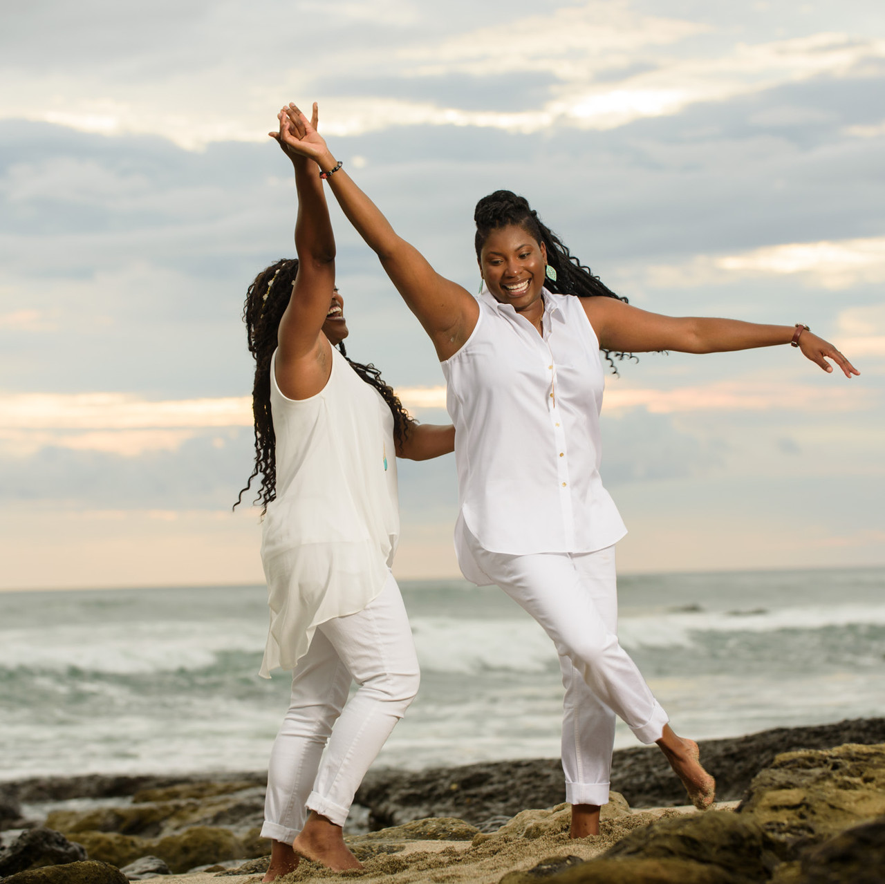 Loving life together at Playa Langosta