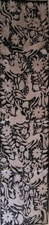 Hand-Embroidered Otomi Table Runner $3200 pesos plus shipping (mas envio)