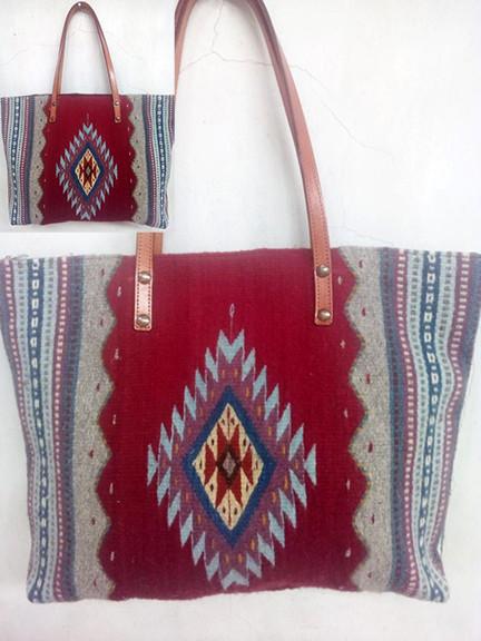 """Diamond & Mountain"" Wool Bag $850 pesos plus shipping (mas envio)"