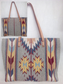 """Zapotec Lightning"" Wool Bag $850 pesos plus shipping (mas envio)"