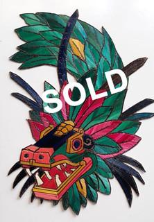 SOLD-Quetzalcoatl Popotillo $480 pesos plus shipping (mas envio)