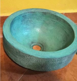 Copper Sink $2800 pesos plus shipping (mas envio)