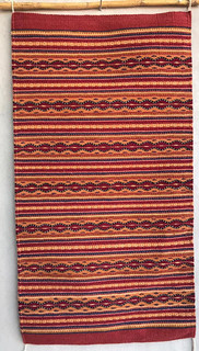 Hand-woven & dyed rug $4,000 pesos plus shipping (mas envio)