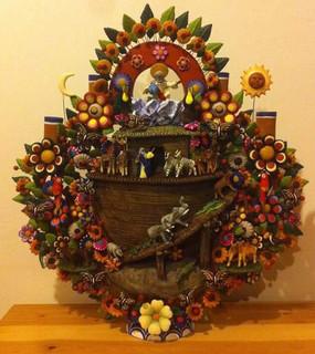 Noah's Ark by Tiburcio Soteno $8,500 pesos plus shipping (mas envio)