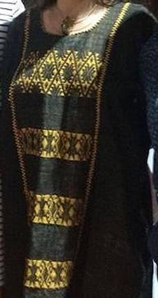 Hand-woven Cotton Huipil $3800 plus shipping (mas envio)