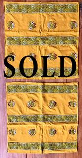 SOLD--Embroidered Cotton Pillow Covers $3,000/set pesos plus shipping (mas envio)