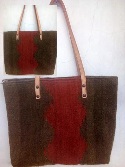 """Cristal"" Design Wool Bag $720 pesos plus shipping (mas envio)"