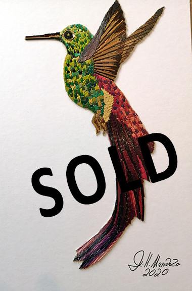 SOLD--Hummingbird $800 pesos