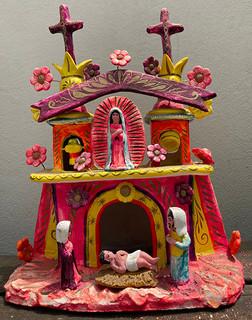 Traditional Antique-Design Church $2800 pesos plus shipping (mas envio)