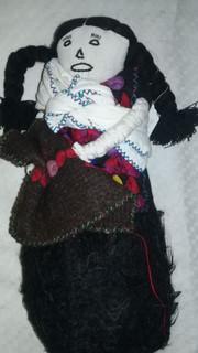 Muñeca de trapo (rag doll) $300 pesos