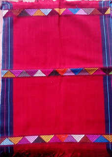 Red Hand-woven Placemats $250 each/cu plus shipping (mas envio)