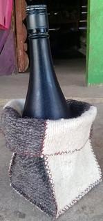 Hand-made woll bread/other item holder $150 pesos plus shipping (mas envio)