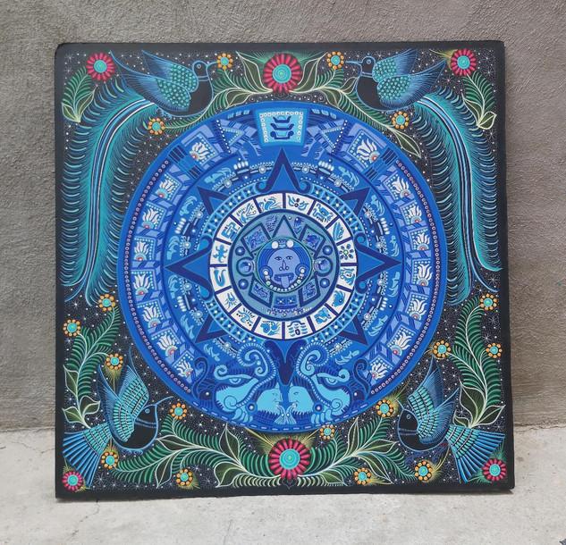 Nahuatl Painting $5,500 pesos plus shipping (mas envio)